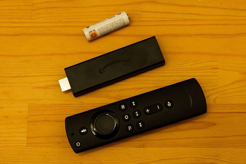 Amazon fire tv stick 4k 大きさイメージ