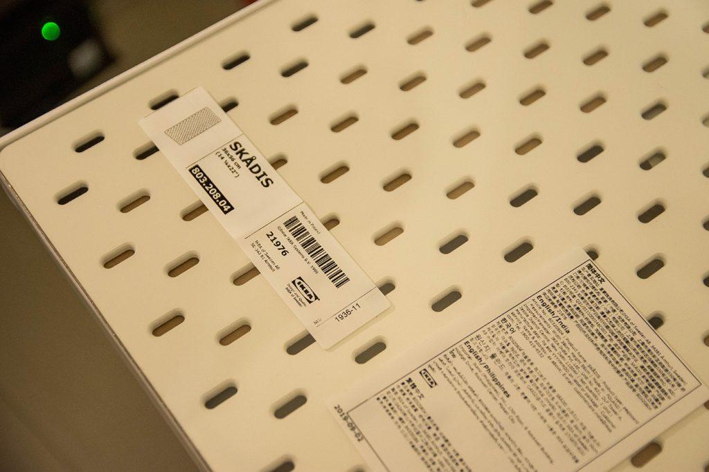 IKEAの有孔ボードは安くて便利