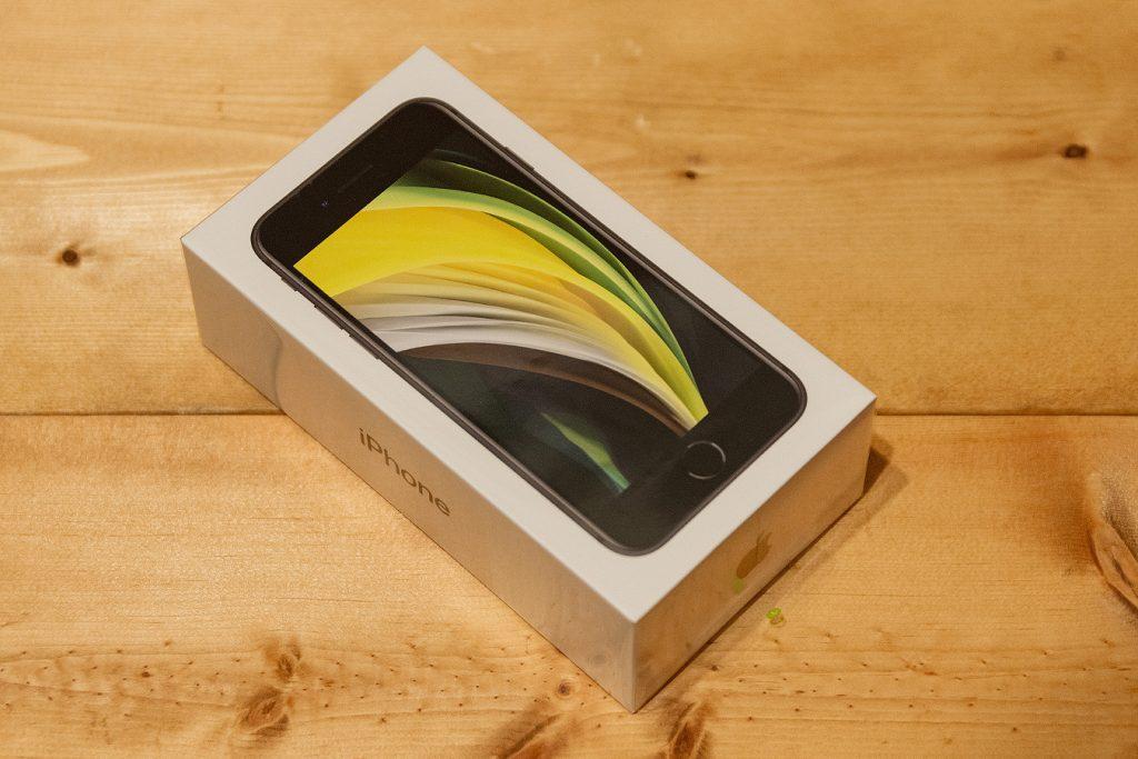 iPhoneSE(第二世代)パッケージ