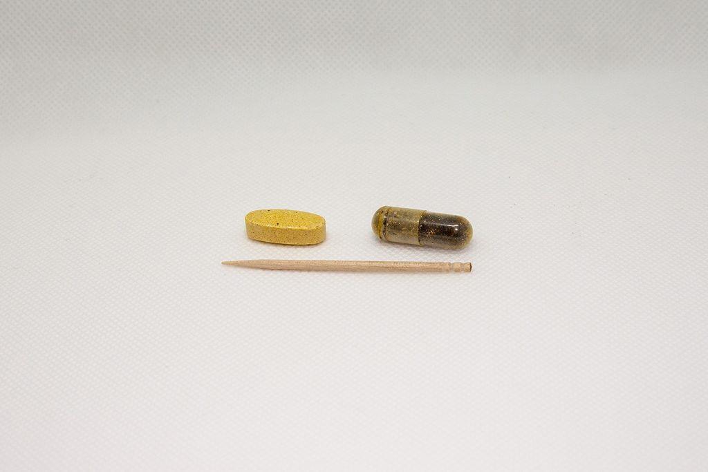 Now Foodsのトゥルーバランスより粒は小さくて飲みやすい