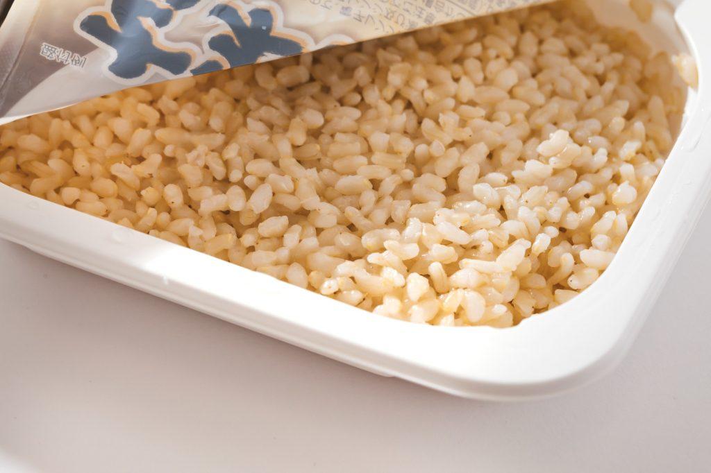 レトルトのパックご飯だと食事の量をコントロールしやすい