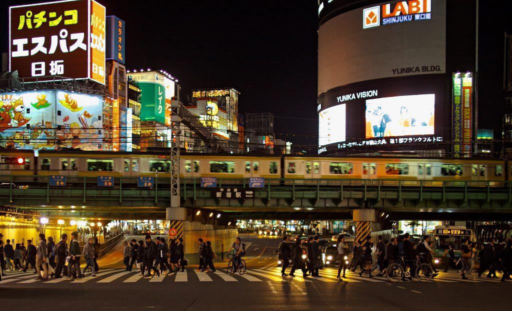 もうずいぶん、夜遅くの新宿には行っていません
